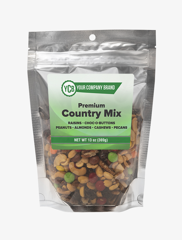 YCB foil pouch Country Mix