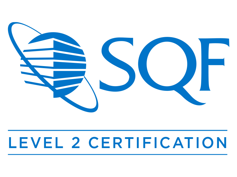 SQF Level 2 Certification logo
