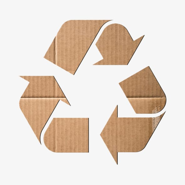 recycled cardboard