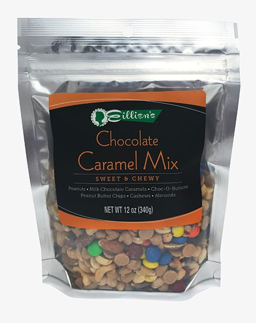 chocolate caramel mix